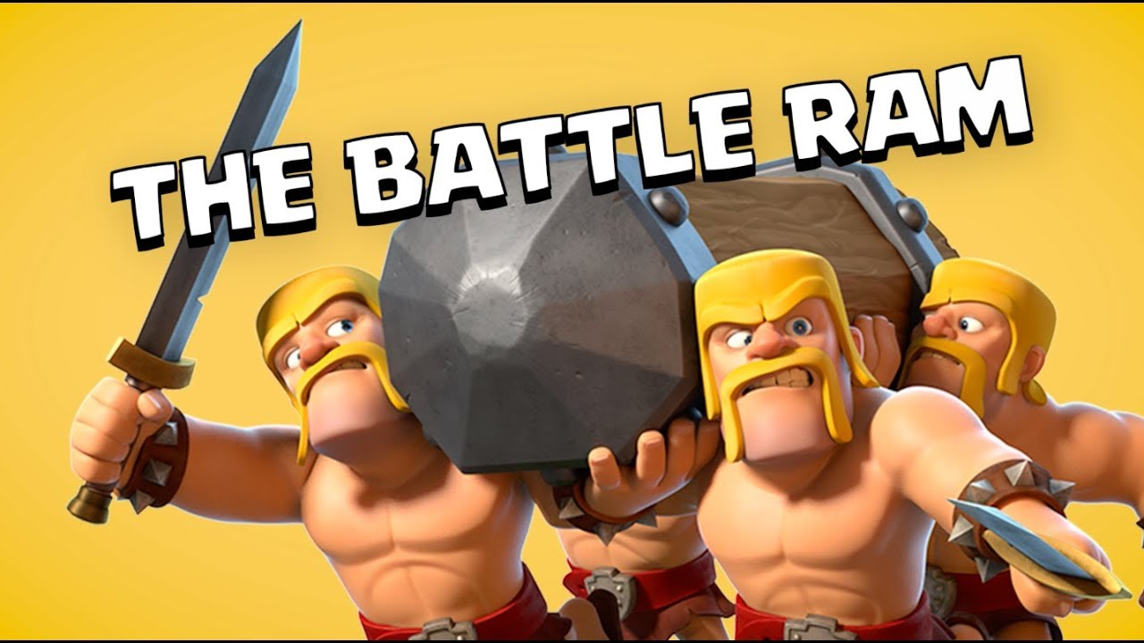 Clash of Clans: Bring On The Battle Ram! (5 Year Clashiversary)
