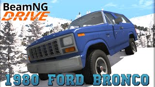 BeamNG DRIVE crash test mod SUV 1980 Ford Bronco