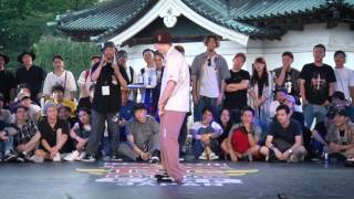 GREEN TECK vs KITE Best8_02 | SAMURAI WORLD FINAL 2017.07.02 | Red Bull BC One Camp Japan 2017