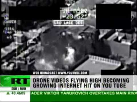 YouTube videos of US unmanned drone attacks in Afghanistan- RT 100105