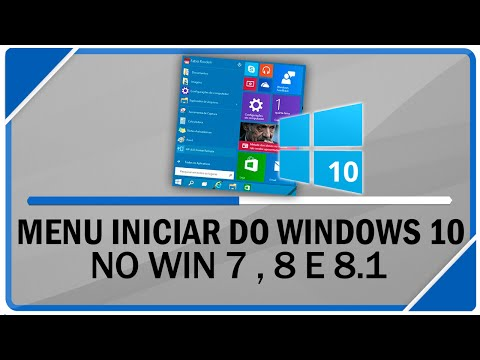 Como instalar menu iniciar do Windows 10 no Windows 7, 8 e 8.1