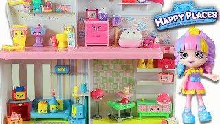 Shopkins Cicibiciler Happy Places (Mutlu Evim) Bölüm 1 | Evcilik TV Yeni Oyuncak Videoları