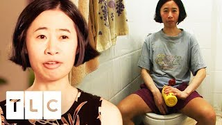 Woman Doesn't Use Toilet Paper To Save Money | Extreme Cheapskates