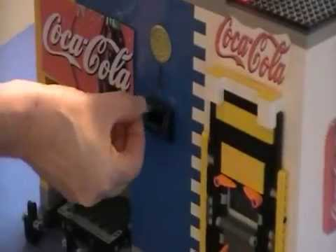 Lego mindstorm vending machine