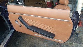 Como hacer y Tapizar Paneles Interiores de carro