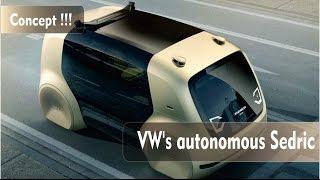 Volkswagen autonomous Sedric concept
