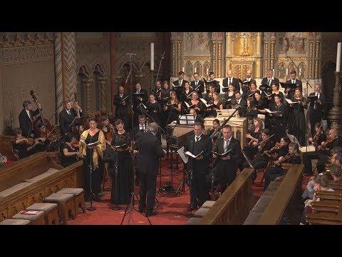 A Purcell Kórus és az Orfeo Zenekar a Mátyás-templomban