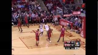 Rockets vs Raptors | Lin ( 16 pts, 10 ast ) + Team Highlights (11-27-2012)