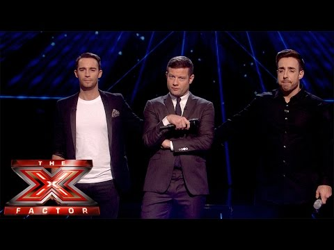 Jay James leaves the competition | Live Results Wk 6 | The X Factor UK 2014