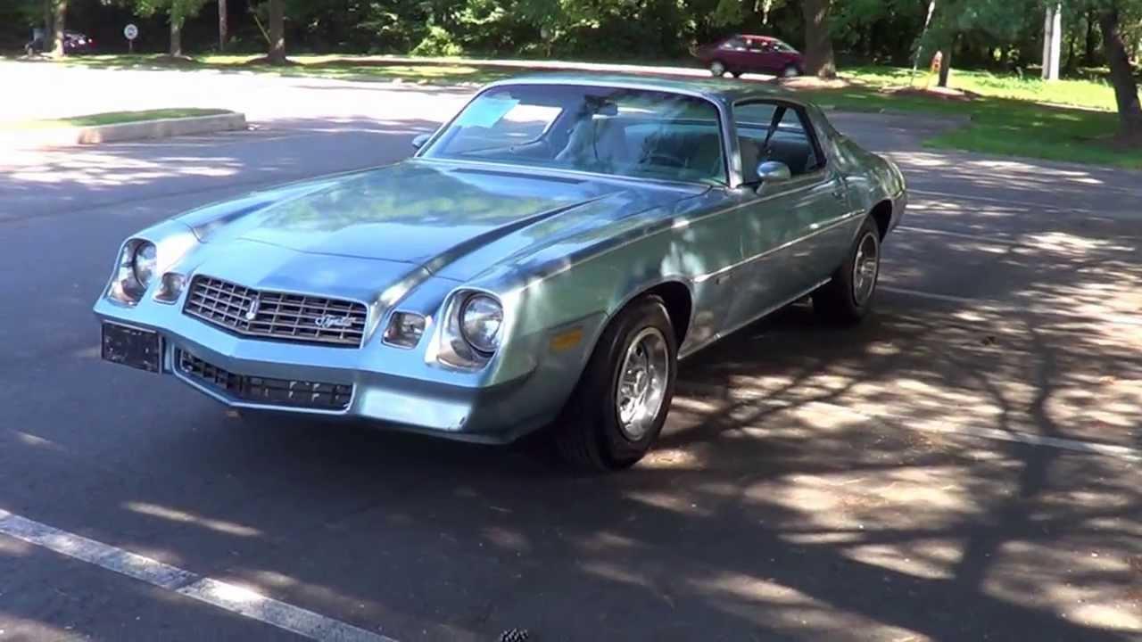 1978 78 Chevrolet Camaro Lt For Sale 81 000 Original