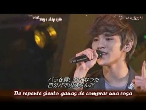 Shinee - Stand By Me Sub (romanizado + Español) Live video