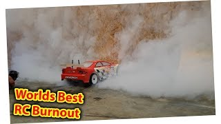 RC Car Burnout - Worlds best?