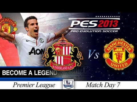 [TTB] BAL Series #2 - PES 2013 -  Sunderland Vs Man Utd - Match Day 7 - Camera Angle V2