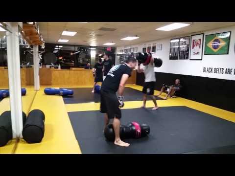 Adult MMA drill
