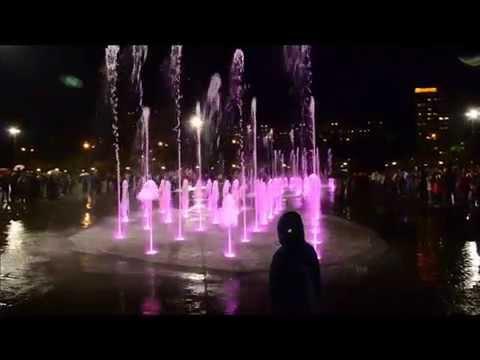 Поющие фонтаны Пермь.