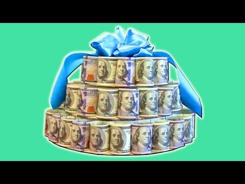 Как сделать торт из денег своими руками фото пошагово