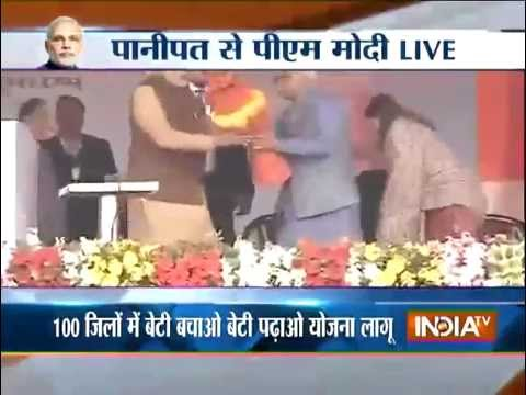 Live: Modi launches campaign to tackle India's dwindling number of girls