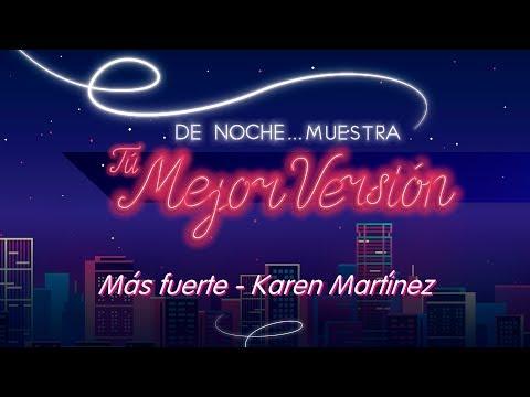 Más fuerte – Karen Martínez (Cover) By Greeicy Rendón
