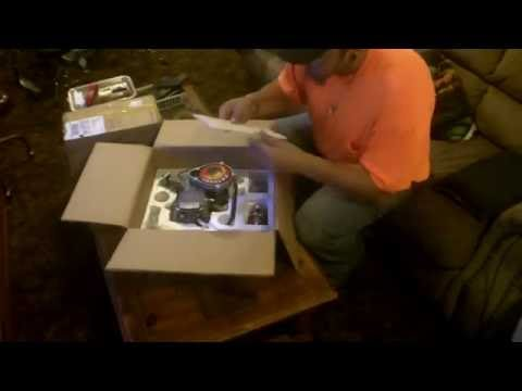 Grubee Skyhawk 66cc GT5A Motorized Bicycle Engine Kit Unboxing