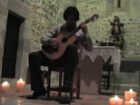 reverie regondi classical guitarist gideon brettler