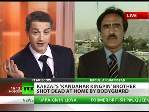 Karzai's 'Kandahar Kingpin' brother shot dead by bodyguard