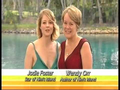 Get into Reading! Jodie Foster & Wendy Orr for MS Readathon