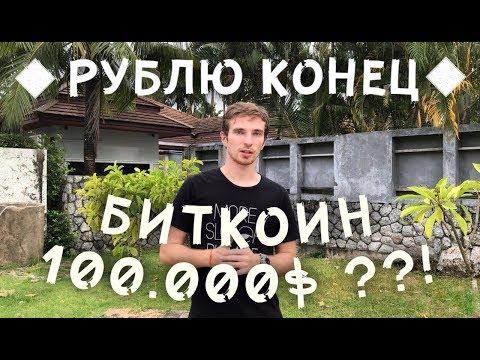 РУБЛЮ КОНЕЦ! БУДЕТ ЛИ БИТКОИН СТОИТЬ 100 000$ ? ЧТО ТАКОЕ ДЕНЬГИ?