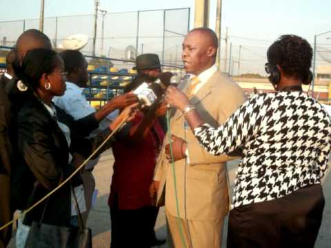 Director Geral da Radio Nacional de Angola, no Enceramento da Campanha Maos Solidaria