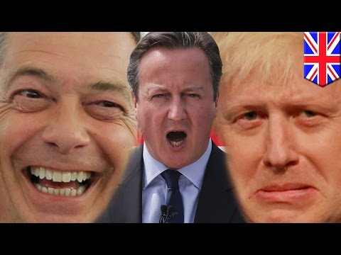 UK EU referendum 2016: Britain to decide European Union future in crunch Brexit vote - TomoNews
