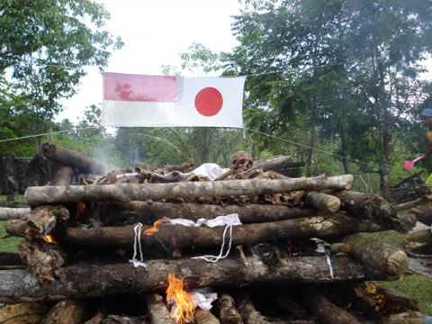 Pameran Prajurit Jepang yg tak sempat dipulangkan ke tanah air dari Papua