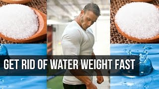 Water Retention: How to Reduce Bloating from Sodium- Thomas DeLauer