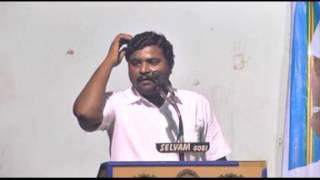 KMDK  Manjunadhan speech Gobi 13 12 2015