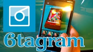 Preview of 6tagram (now 6tag), Instagram application for Windows Phone