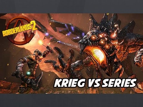 Borderlands 2 - Krieg Vs Terramorphous (MODDED BOSS FIGHT)