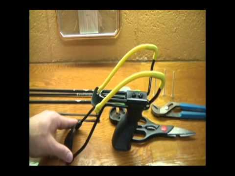 The Sling Bow - How to build your own by NoMoreOp4