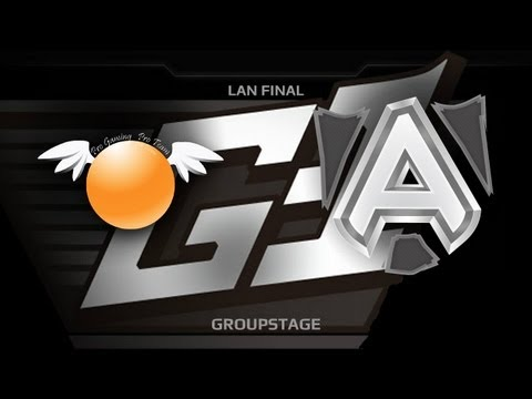 G1 League LAN Final  Groupstage  Orange vs Alliance