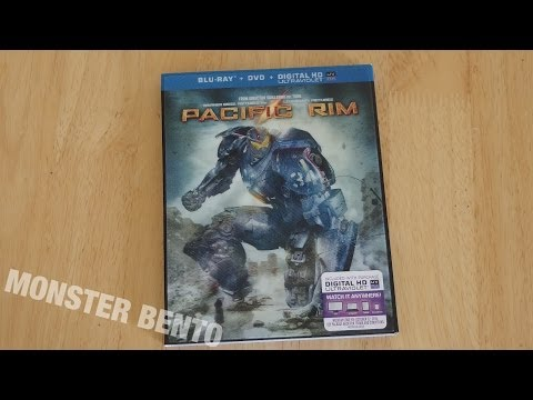 Pacific Rim Blu-Ray & DVD & Digital Copy Unboxing
