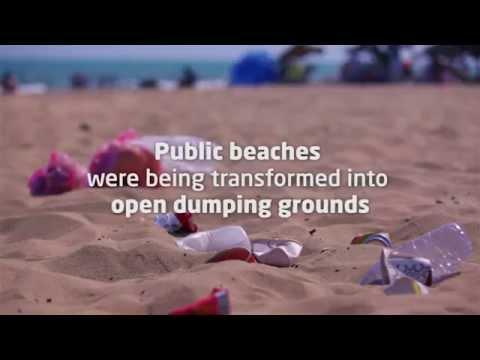 Keep our beaches clean, Tunisie Telecom - Effie MENA 2014 Winner