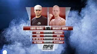 MIX FIGHT - ADIEL IBAÑEZ vs BRADLEY JAMES