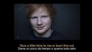 Ed Sheeran - Give Me Love HD (Sub español - ingles)