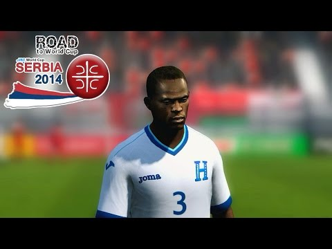 FIFA 14 - RTWC Serbia 2014 - Oman vs. Honduras - Two-legged tie final match