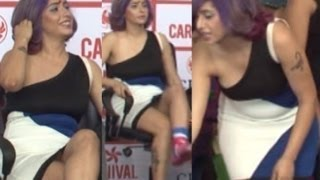 Neha Bhasin Hot In Short Dress !