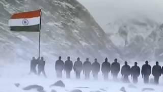 National Anthem Of India - The Siachen Glacier - Indian Army - Jana Gana Mana