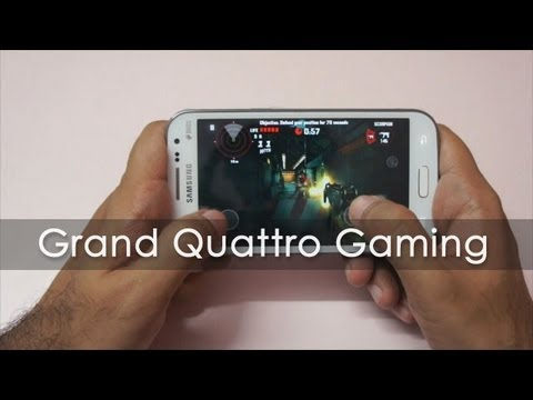 Samsung Grand Quattro Gaming Review - Geekyranjit