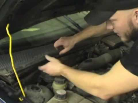 MicronAir Cabin Air Filter installation 2000-2004 Ford Focus