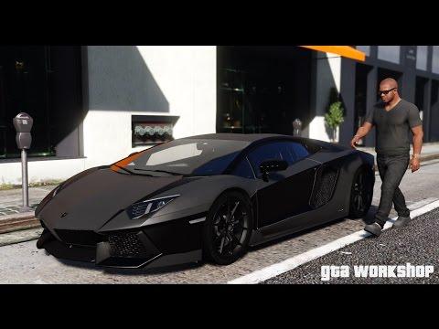 GTA 5 MOD   Lamborghini Aventador - 2016   Fast Drive!!!   PC 60 FPS
