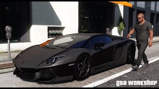 download lagu Gta 5 Mod  Lamborghini Aventador - 2016  gratis
