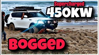 How NOT to drive in SAND ! 4WD Action on the Beach
