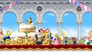 New Super Mario Bros Wii Walkthrough - Part 1 - World 1