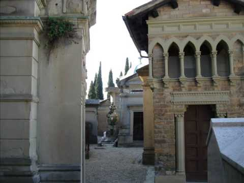 Florence Italy - tombs and monuments - San Miniato cemetary